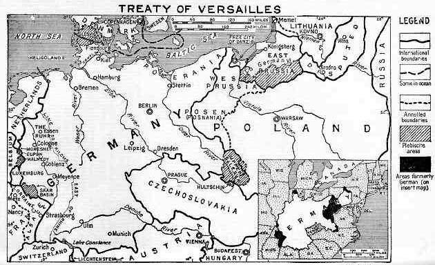 The harmful effects of the treaty of versailles